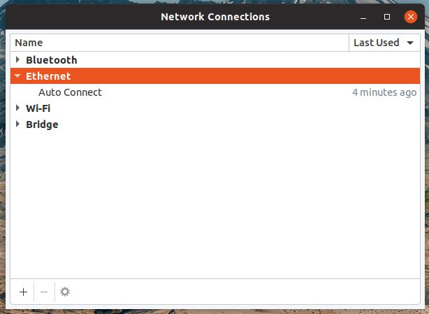 Network Profiles in Ubuntu