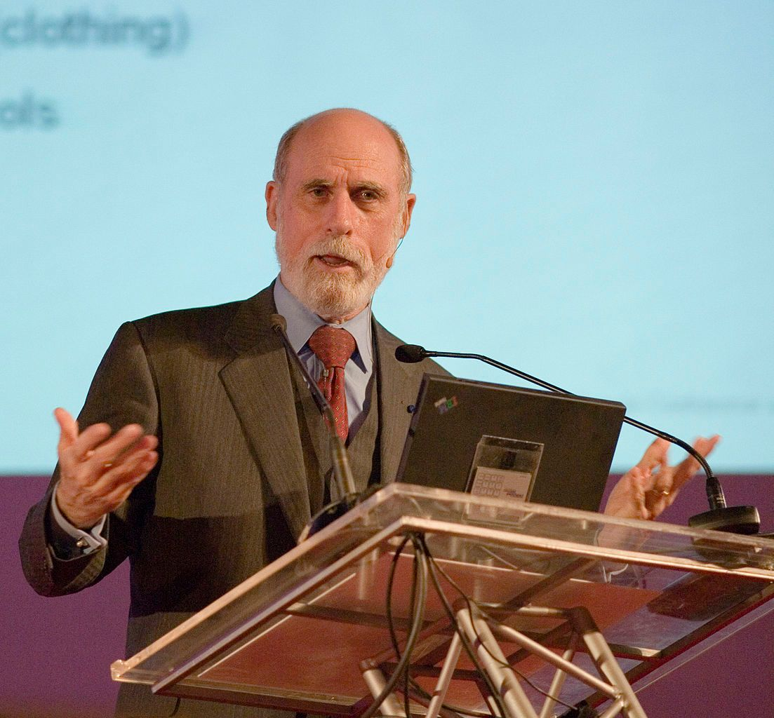 Vint Cerf Lecture at UGent